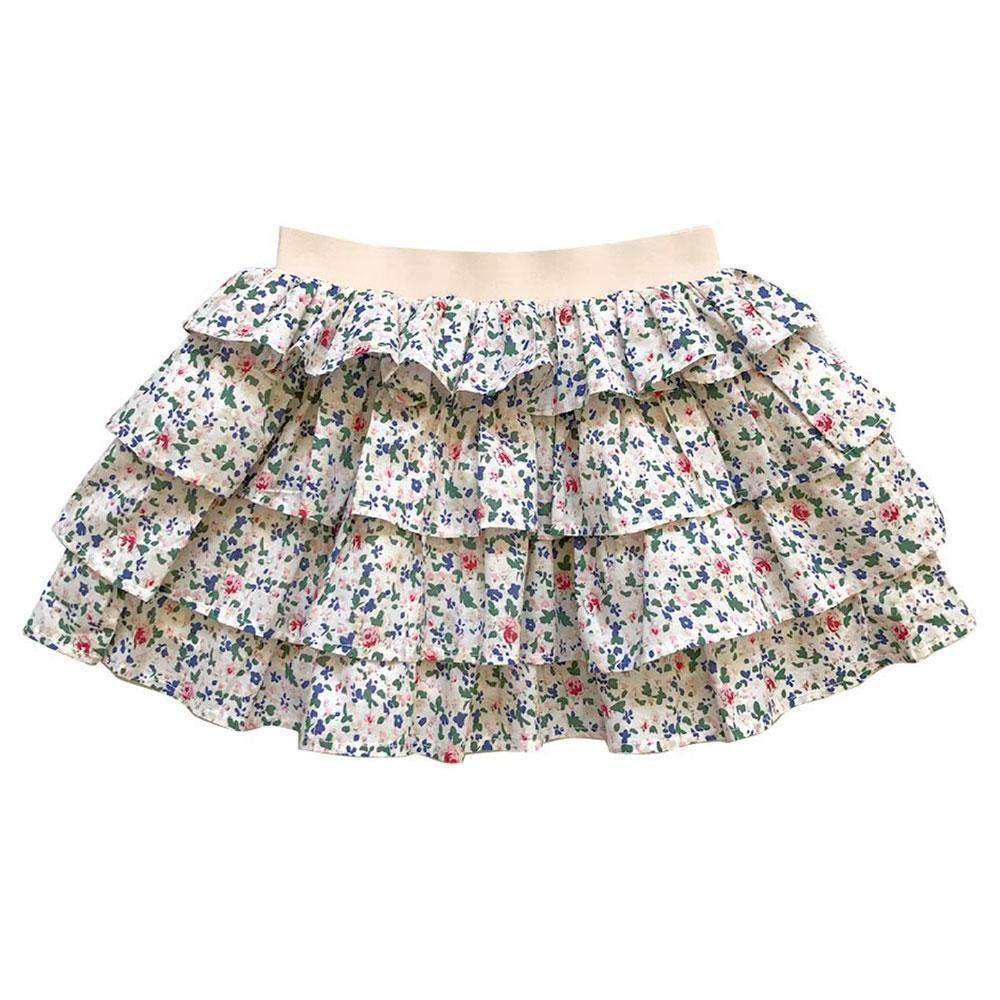 Aubrie Ra Ra Flamenco Skirt - Senorita Floral - Tiny People Cool Kids Clothes Byron Bay