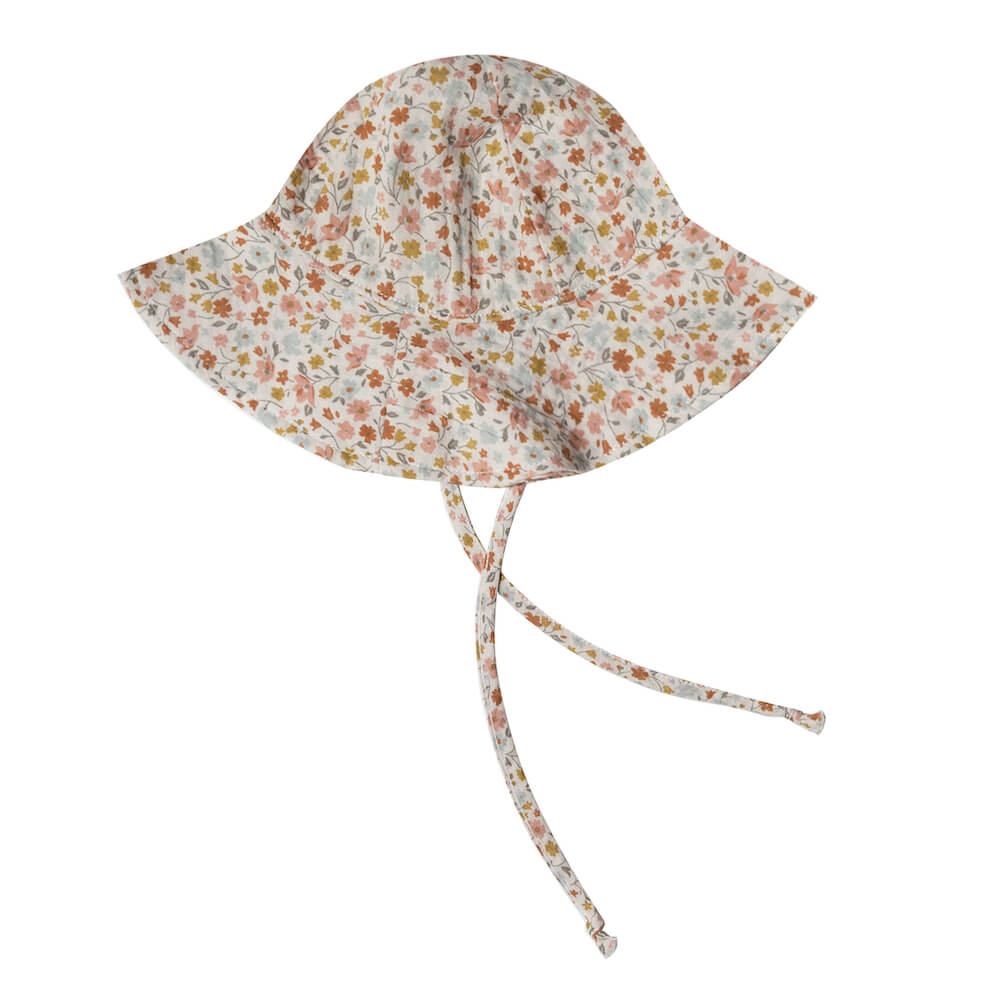 Rylee & Cru Floppy Sun Hat Flower Field | Tiny People