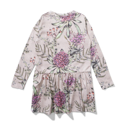 Flora Dress Mocha Marle