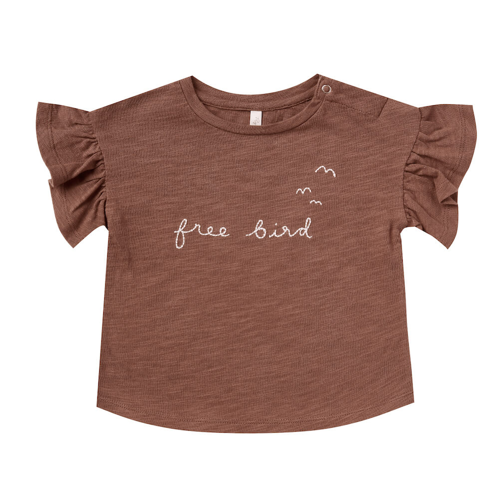 Rylee & Cru Free Bird Flutter Tee | Tiny People