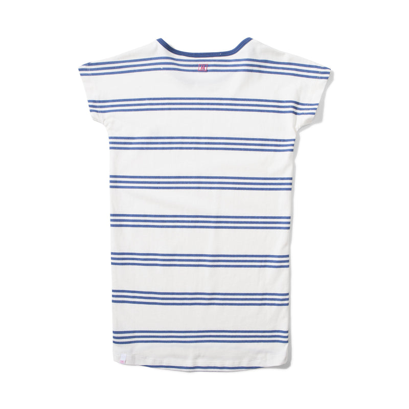 Gidget Dress - Navy Stripe