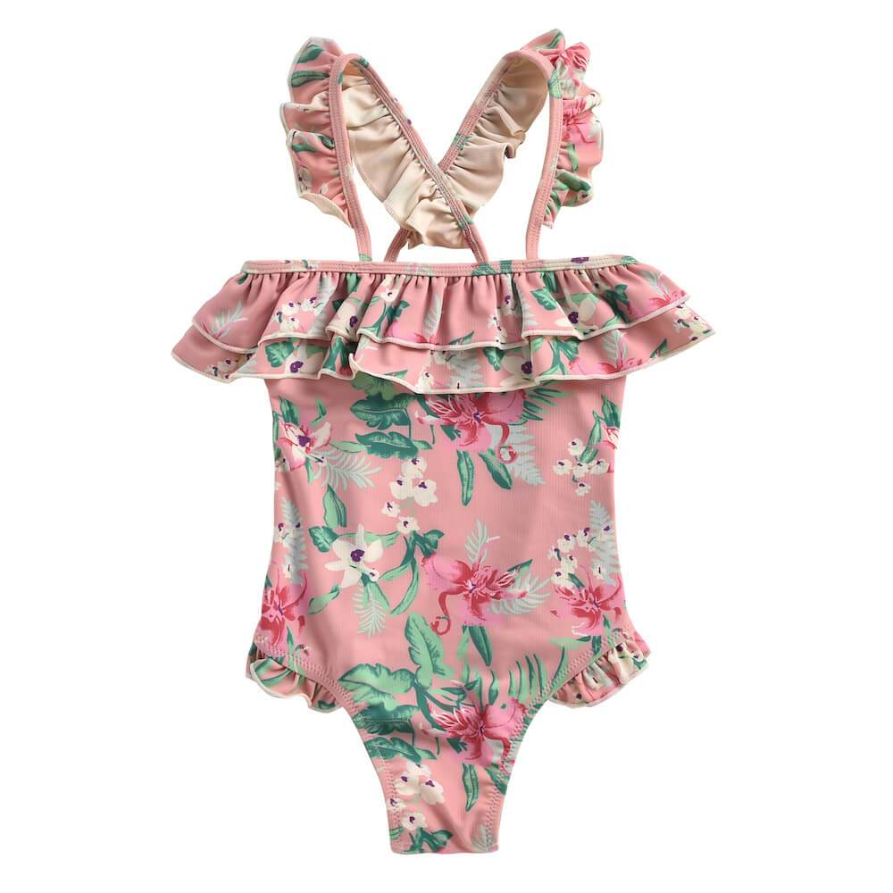 Louise Misha Zacatecas Bathing Suit Siena Flamingo | Tiny People