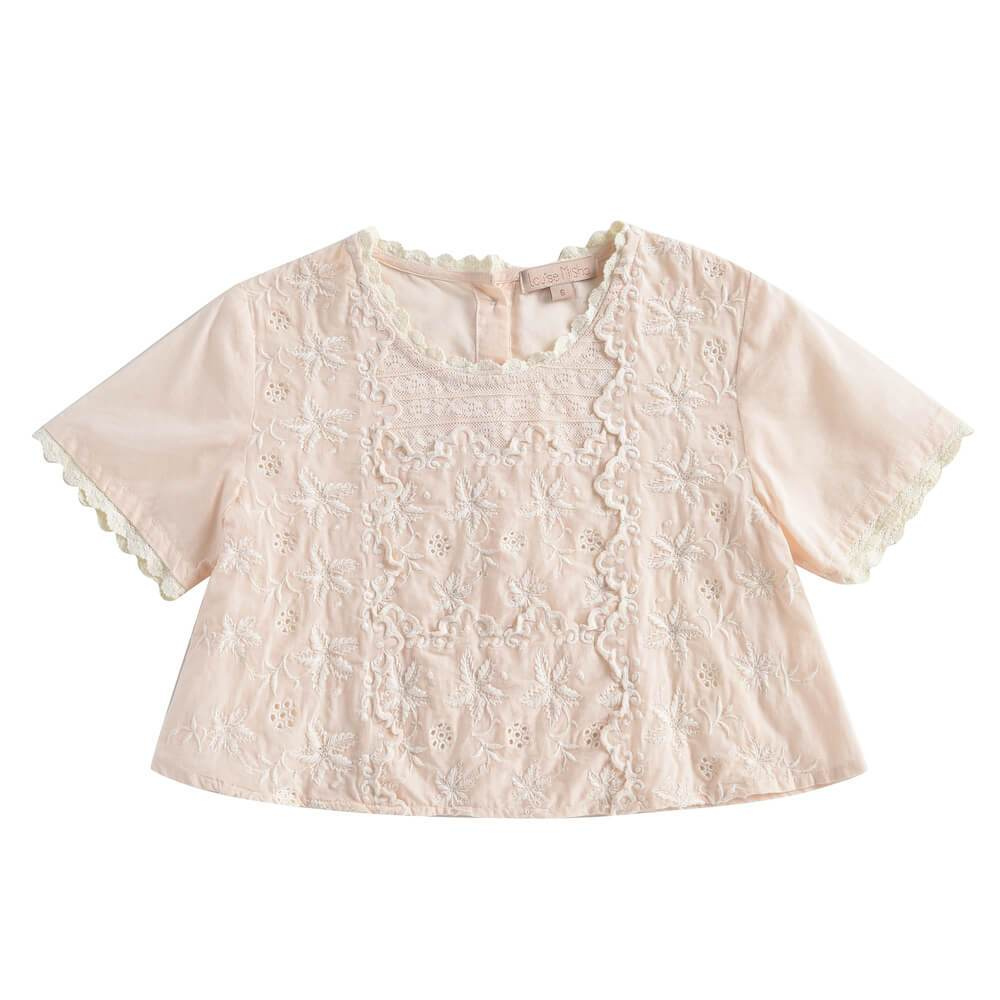 Louise Misha Veracruz Blouse Light Blush | Tiny People