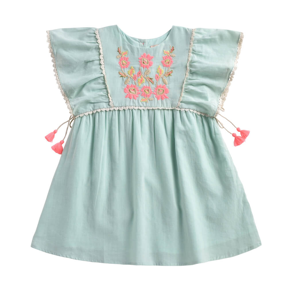 Louise Misha Khalo Dress Almond | Tiny People