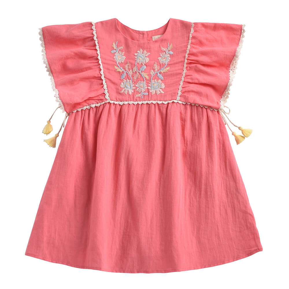 Louise Misha Khalo Dress Strawberry | Tiny People