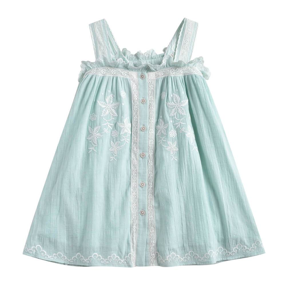 Louise Misha Lucinda Dress Almond | Tiny People