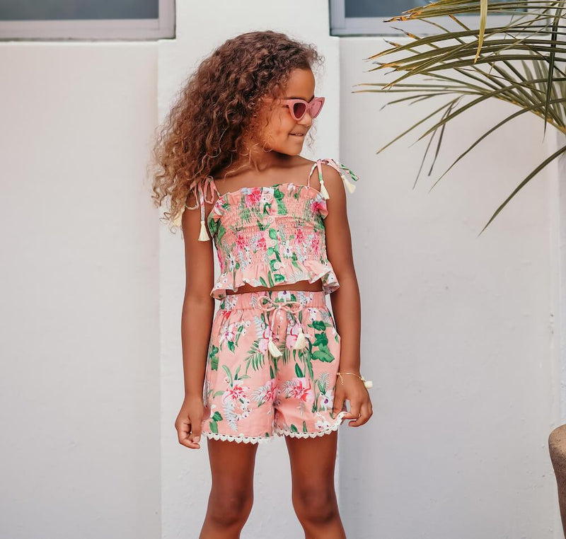 Louise Misha Miami Top Sienna Flamingo | Tiny People