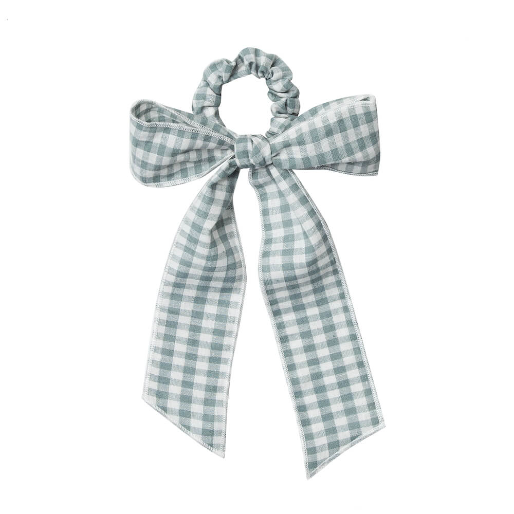 Rylee & Cru Hair Scarf Tie Scrunchie Gingham | Tiny People
