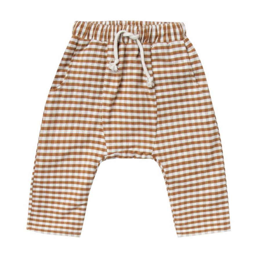 Rylee & Cru Hawthorne Gingham Trousers - Tiny People Cool Kids Clothes Byron Bay