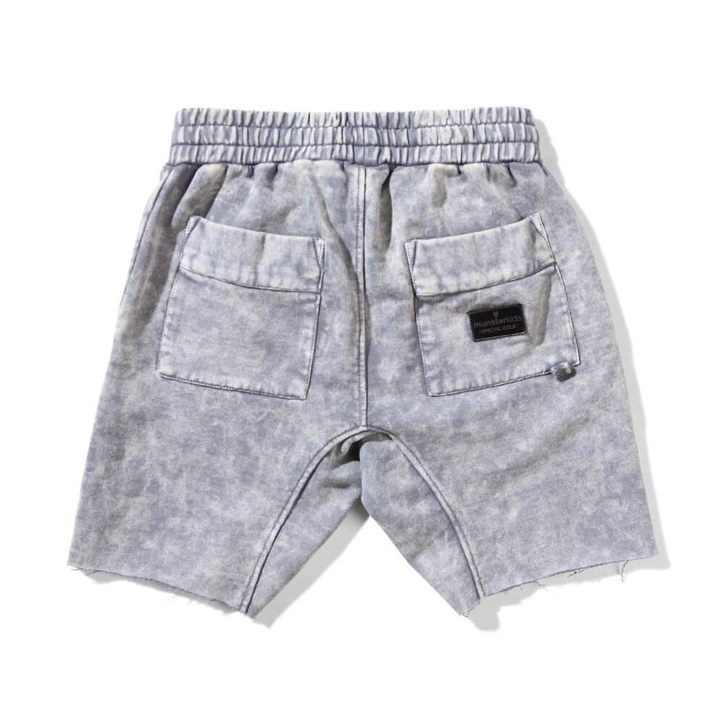 Heal Flip Fleece Shorts Pigment Grey