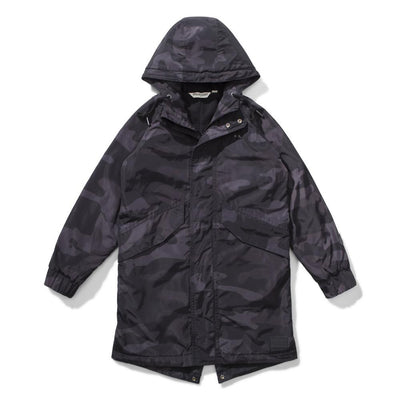 Hunter Jacket Black Camo