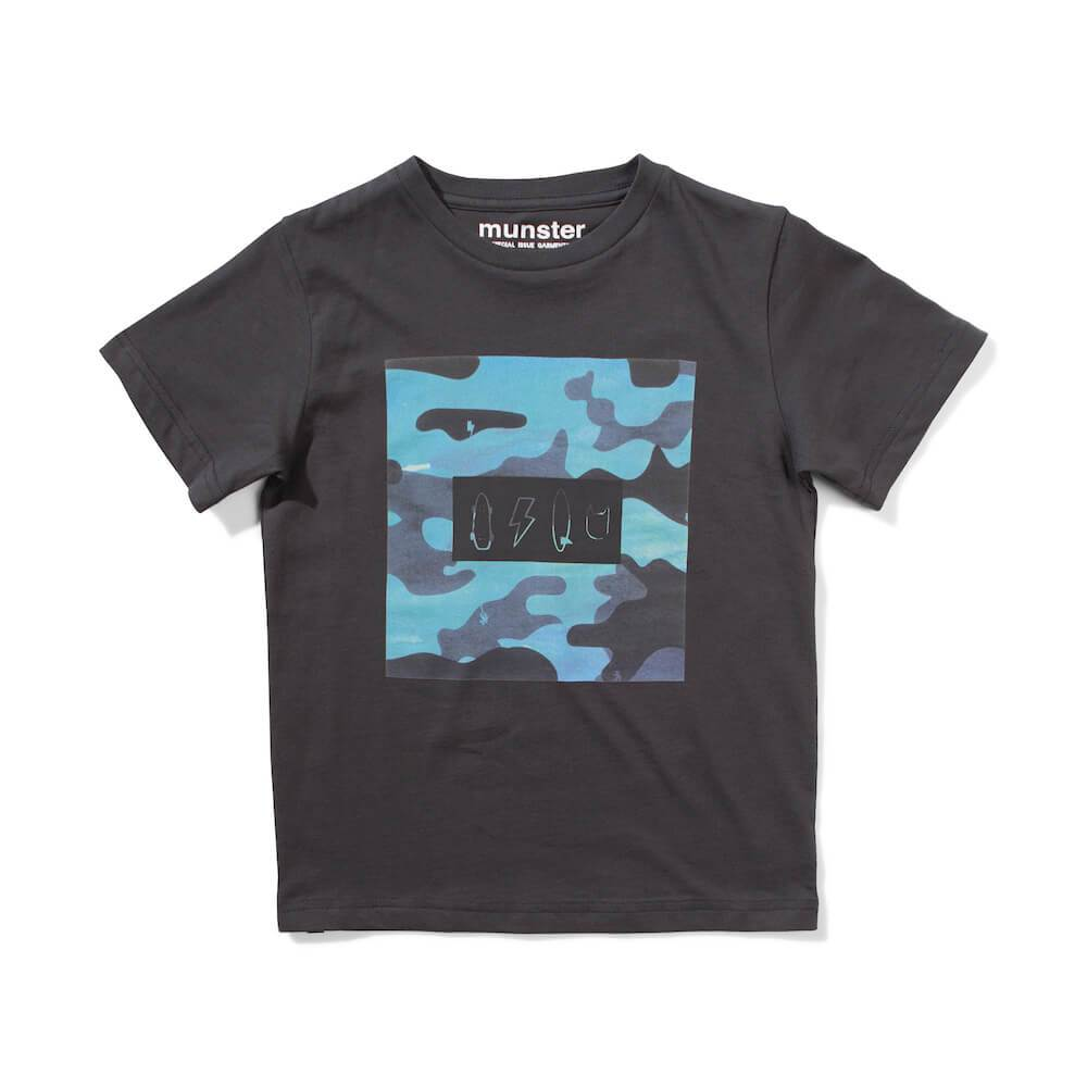 Icon Camo T-Shirt Soft Black