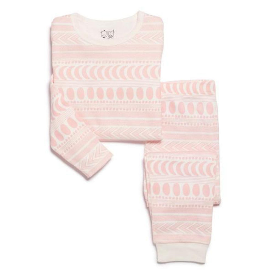 Wilson and Frenchy Pink Moon Aztec Pyjama Set - Tiny People Cool Kids Clothes Byron Bay