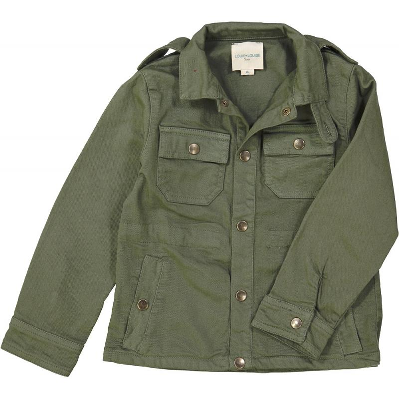 Jacket Tino Dyed Denim Khaki