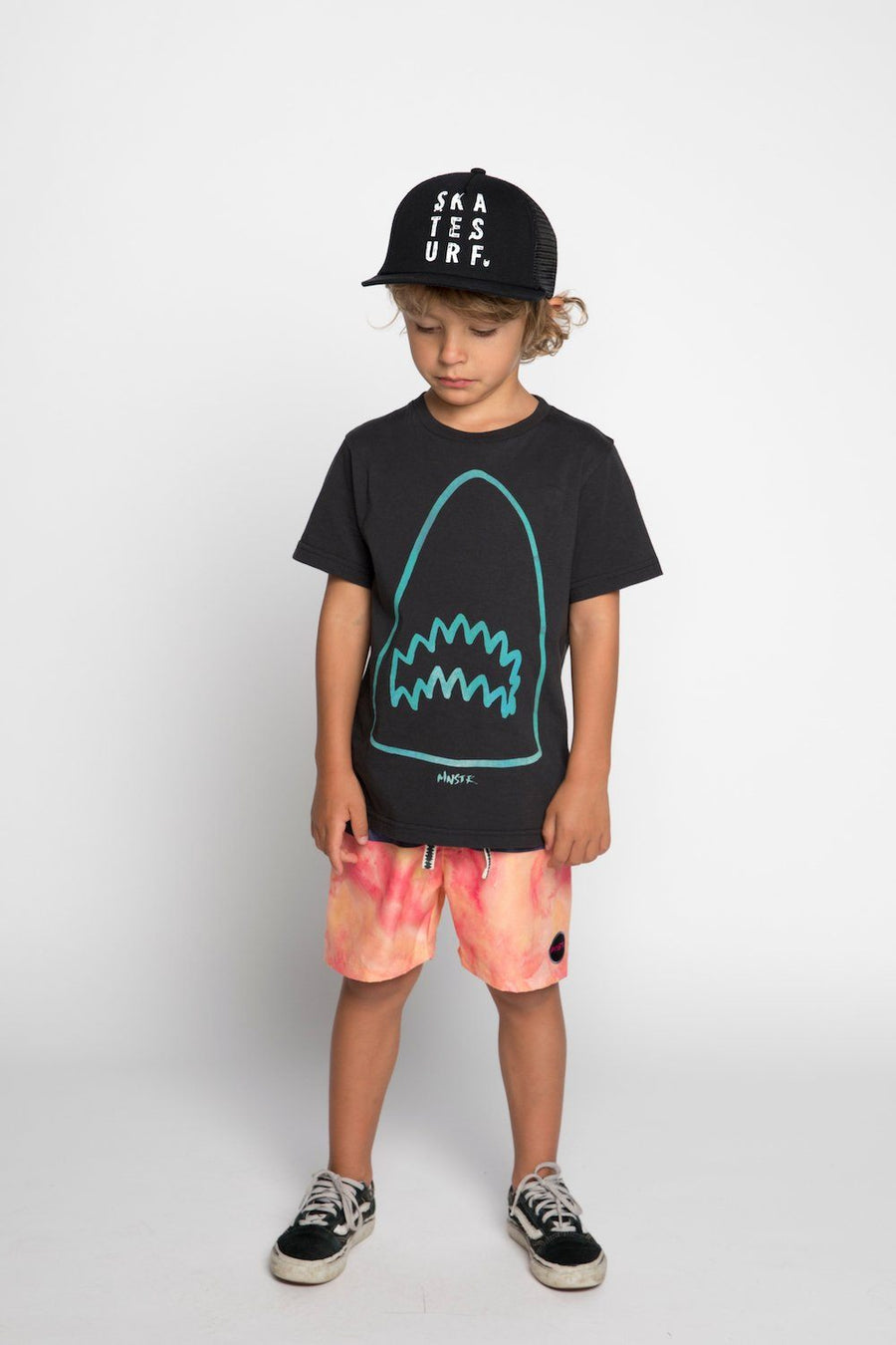 Cool boys Munster Jaws Tee at Tiny People.