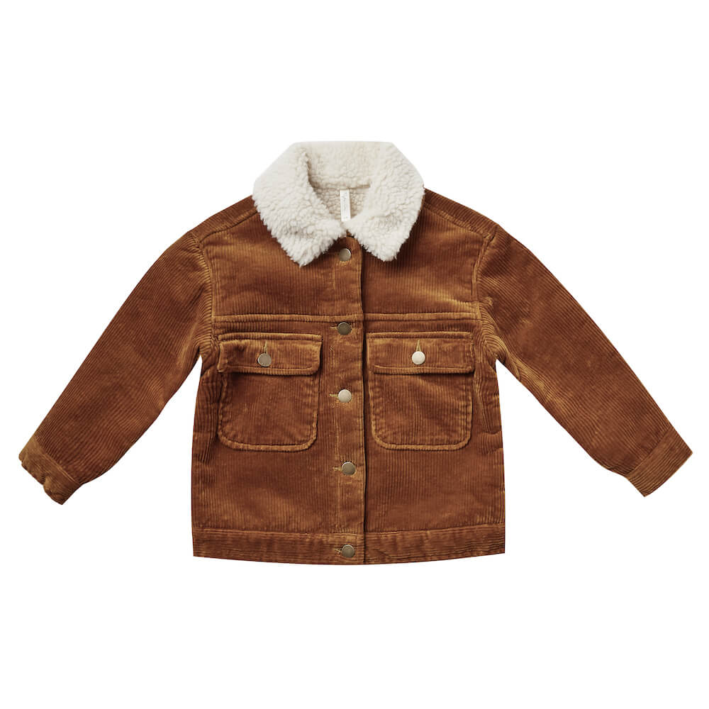 Rylee & Cru Julian Jacket Cinnamon | Tiny People
