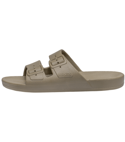 Freedom Moses Freedom Moses Kids Slides Khaki - Tiny People Cool Kids Clothes Byron Bay