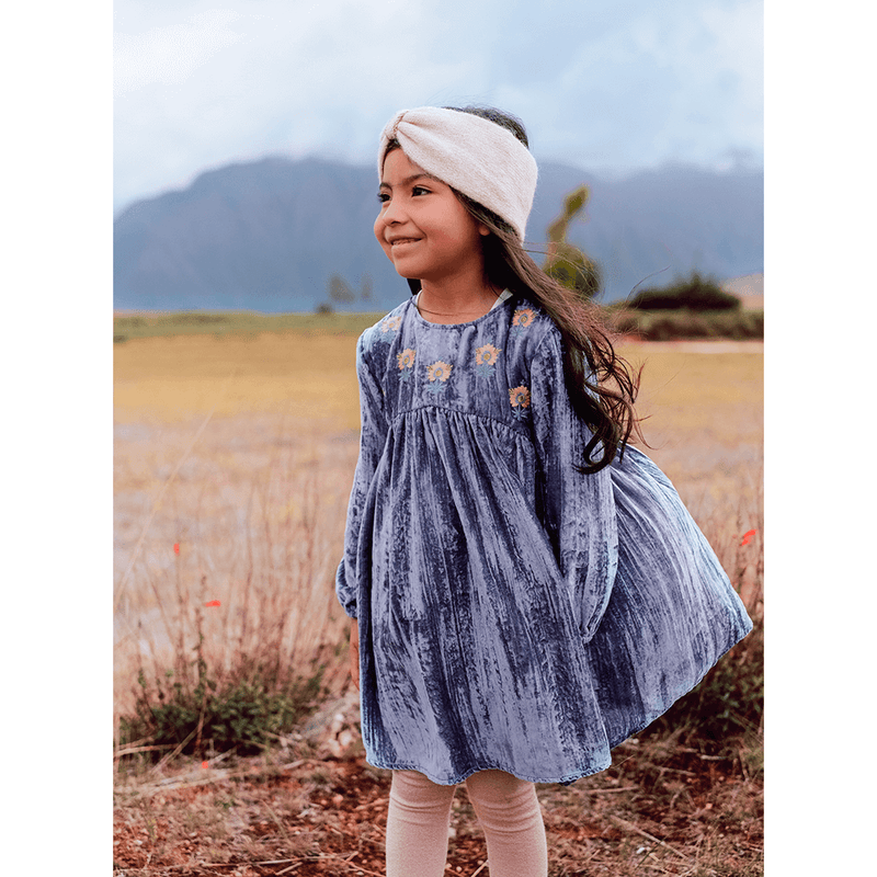 Louise Misha Chachani Dress Storm Girls Dresses - Tiny People Cool Kids Clothes