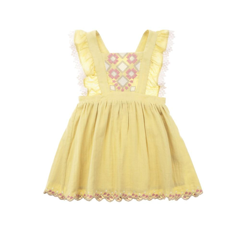 Pinea Dress Soft Yellow
