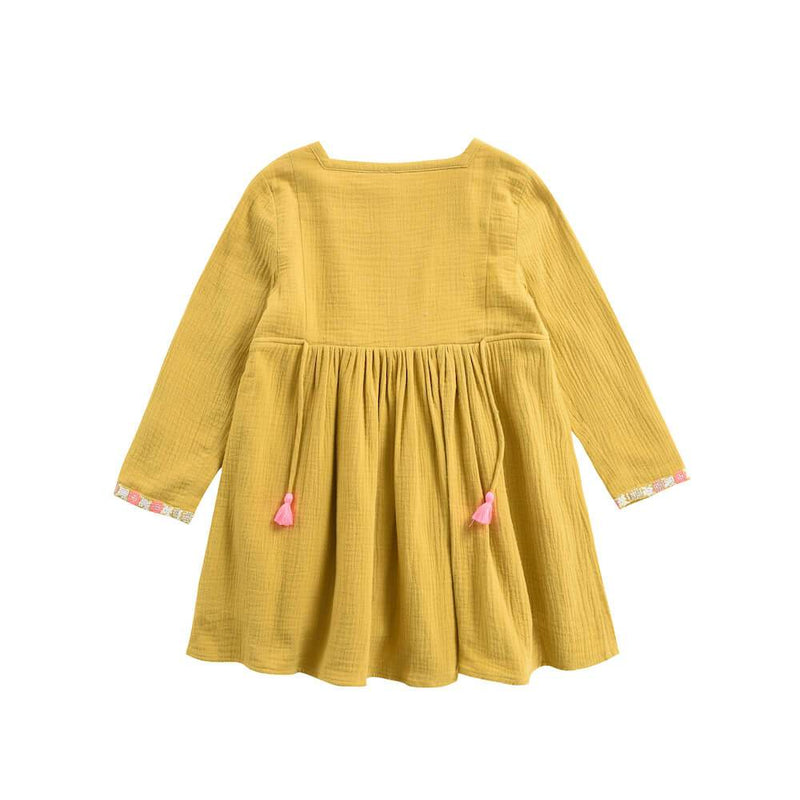 Uros Dress Honey