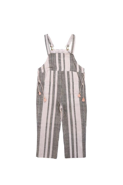 Kingston Overalls Cream Stripes