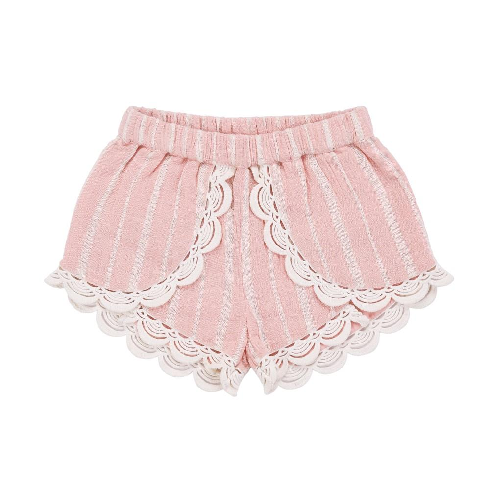 Kai Shorts Blush Stripes