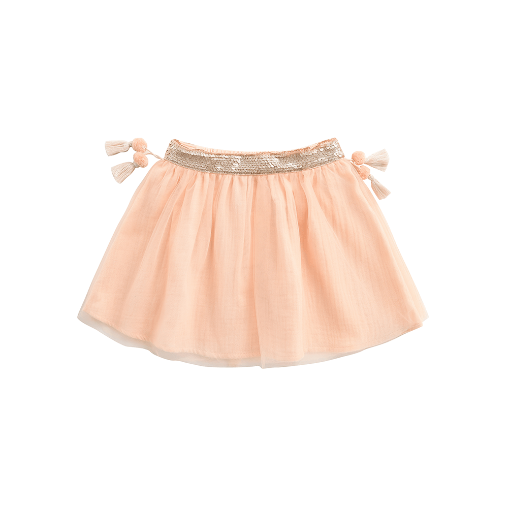 Louise Misha Minyi Skirt Blush Girls Skirts - Tiny People Cool Kids Clothes