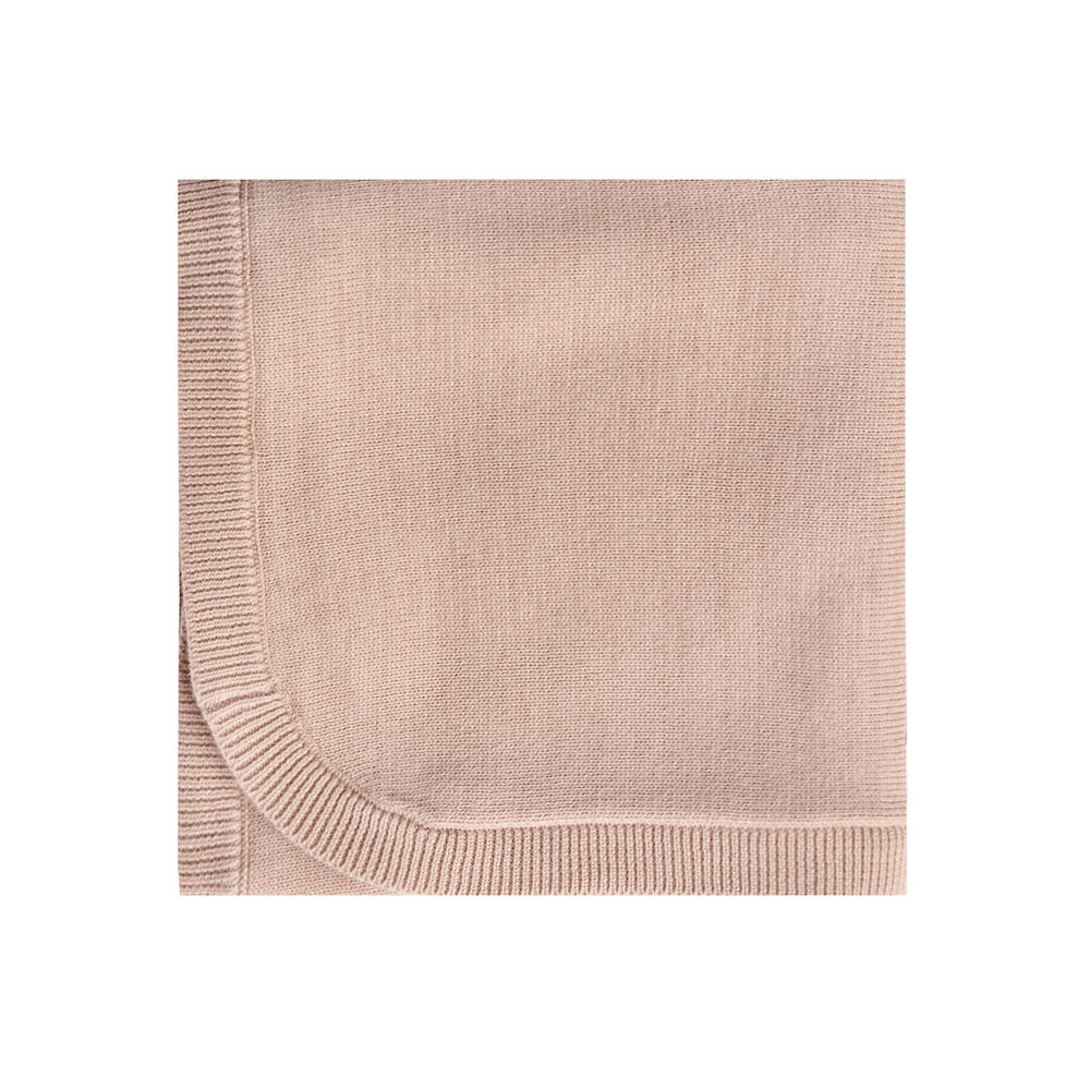 Quincy Mae Knit Baby Blanket Petal | Tiny People