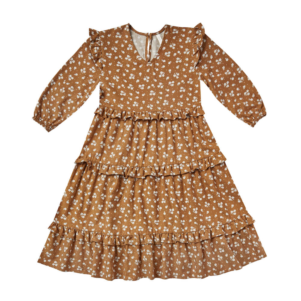 Rylee and Cru Mabel Dress Cinnamon | Tiny People