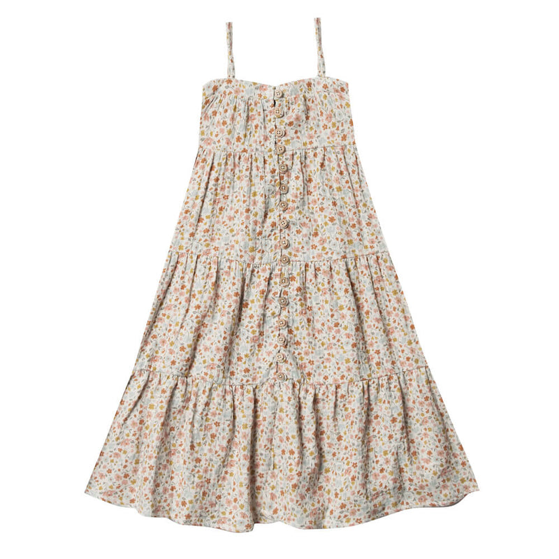 Rylee & Cru Flower Field Tiered Maxi Dress | Tiny People