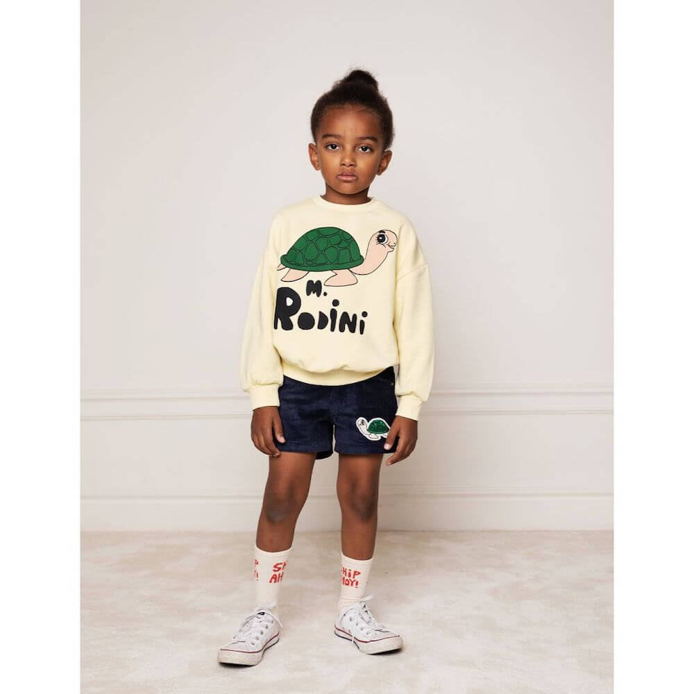 Mini Rodini Turtle sp Sweatshirt | Tiny People