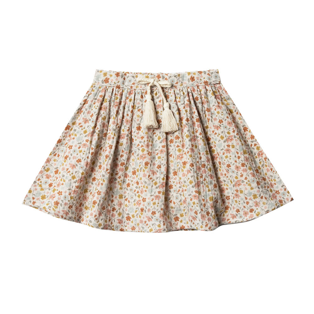 Rylee and Cru Flower Field Mini Skirt | Tiny People