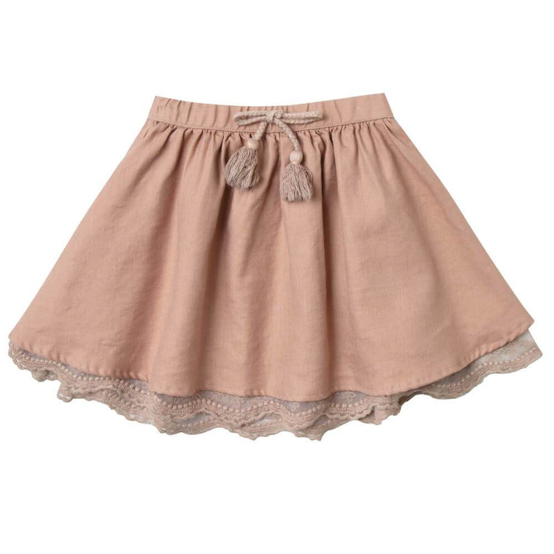 Rylee & Cru Mini Skirt Truffle Girls Skirts - Tiny People Cool Kids Clothes