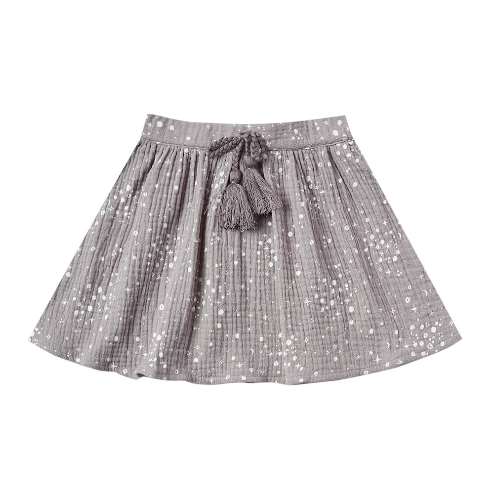 Rylee and Cru Moondust Mini Skirt Periwinkle | Tiny People