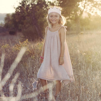 Numero 74 Mia Dress Dusty Pink - Tiny People Cool Kids Clothes Byron Bay