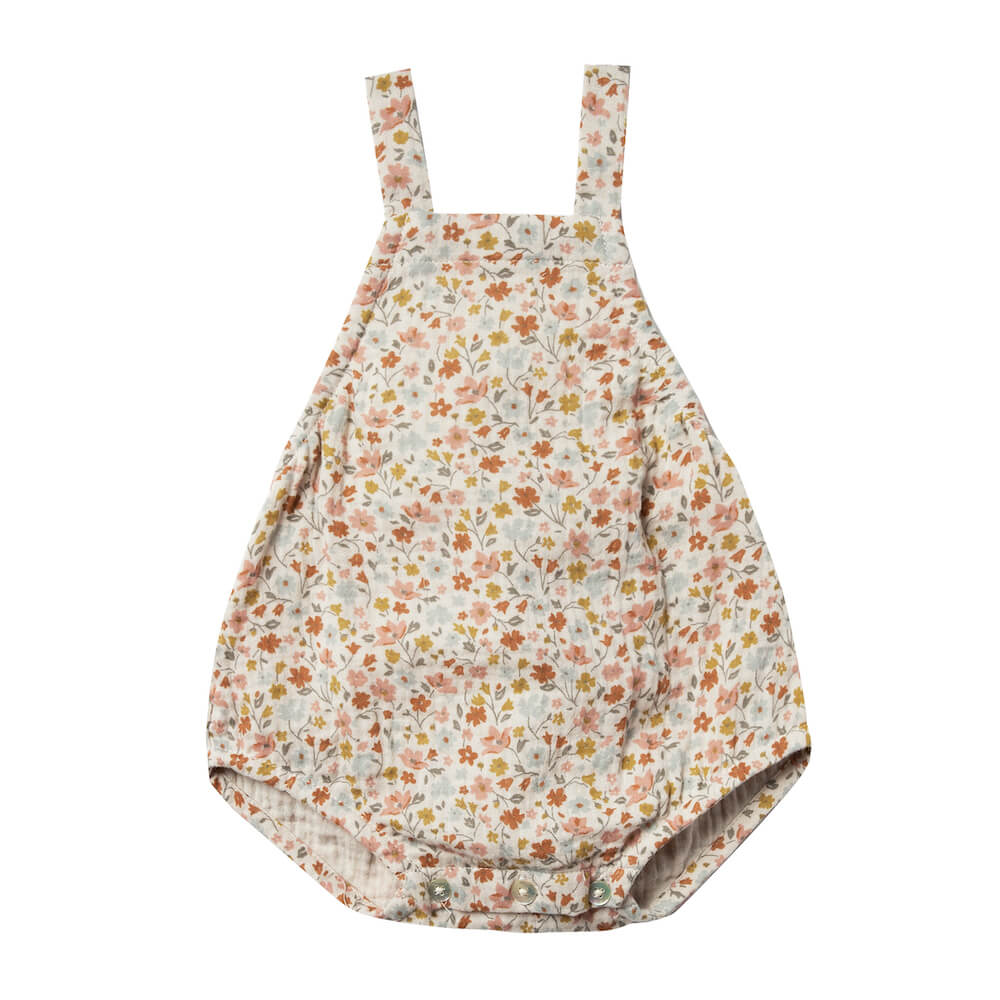 Rylee and Cru Flower Field Norah Romper | Tiny People