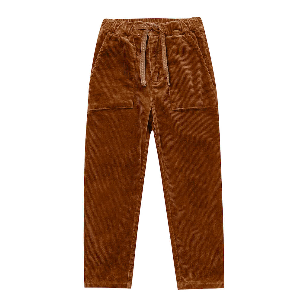 Rylee & Cru Oliver Pant Cinnamon | Tiny People