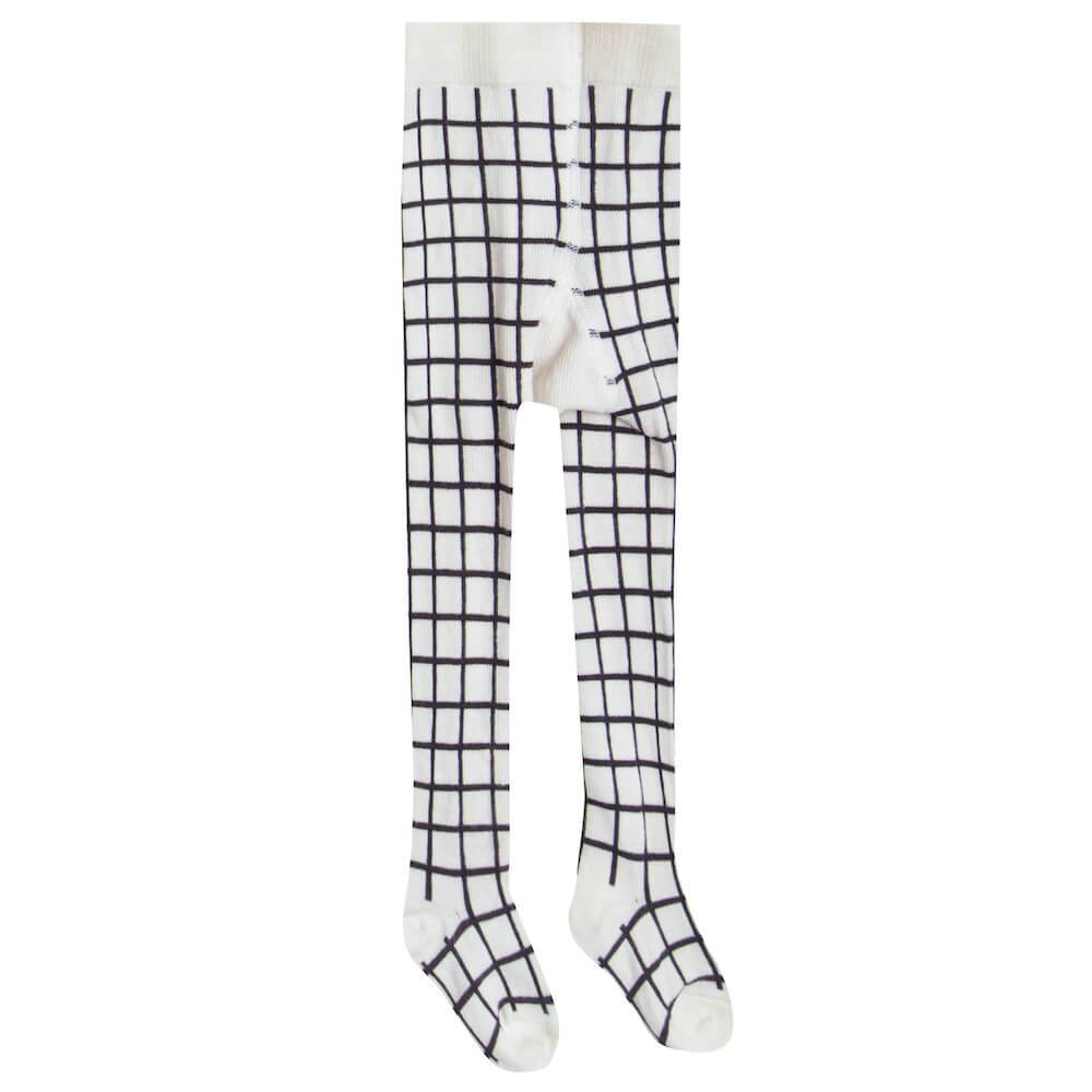 Rylee & Cru Printed Tights Check Girls Pants & Leggings - Tiny People Cool Kids Clothes