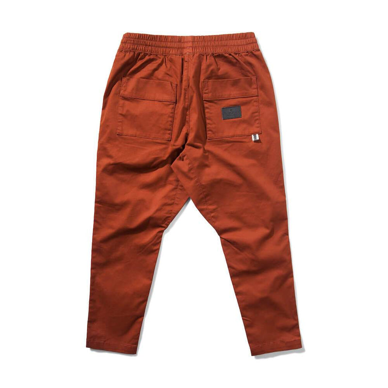 Munster Kids Ranch 2 Twill Pants Rust Pants & Leggings - Tiny People Cool Kids Clothes