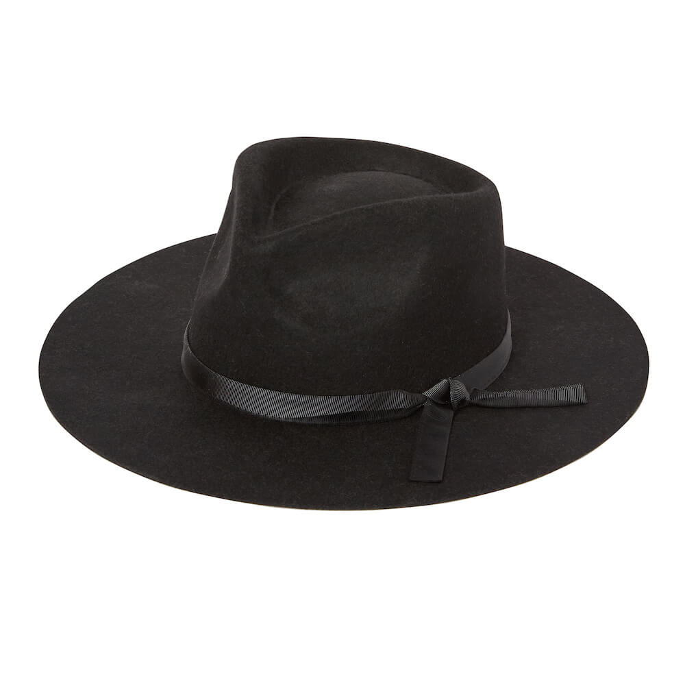 Rylee & Cru Rancher Hat Vintage Black | Tiny People