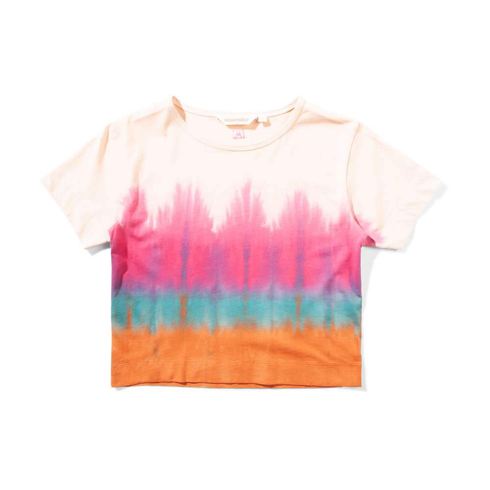 Missie Munster Rasta Blush Tye Dye T-Shirt Girls Tops & Tees - Tiny People Cool Kids Clothes