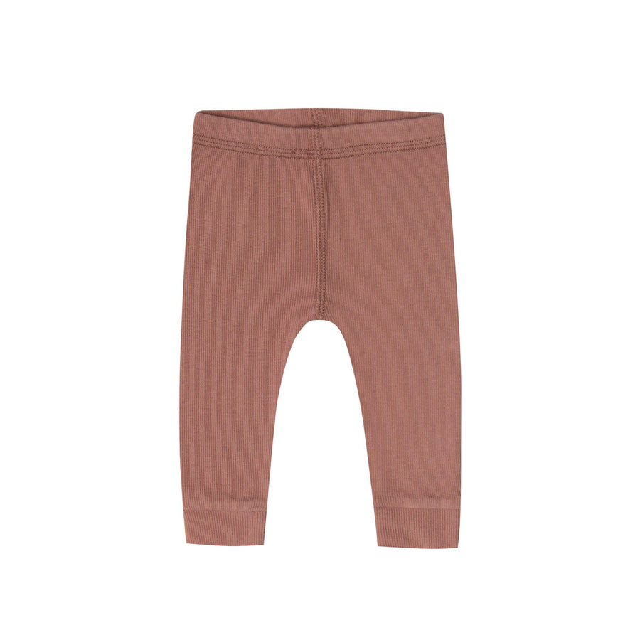 Ribbed Legging Clay