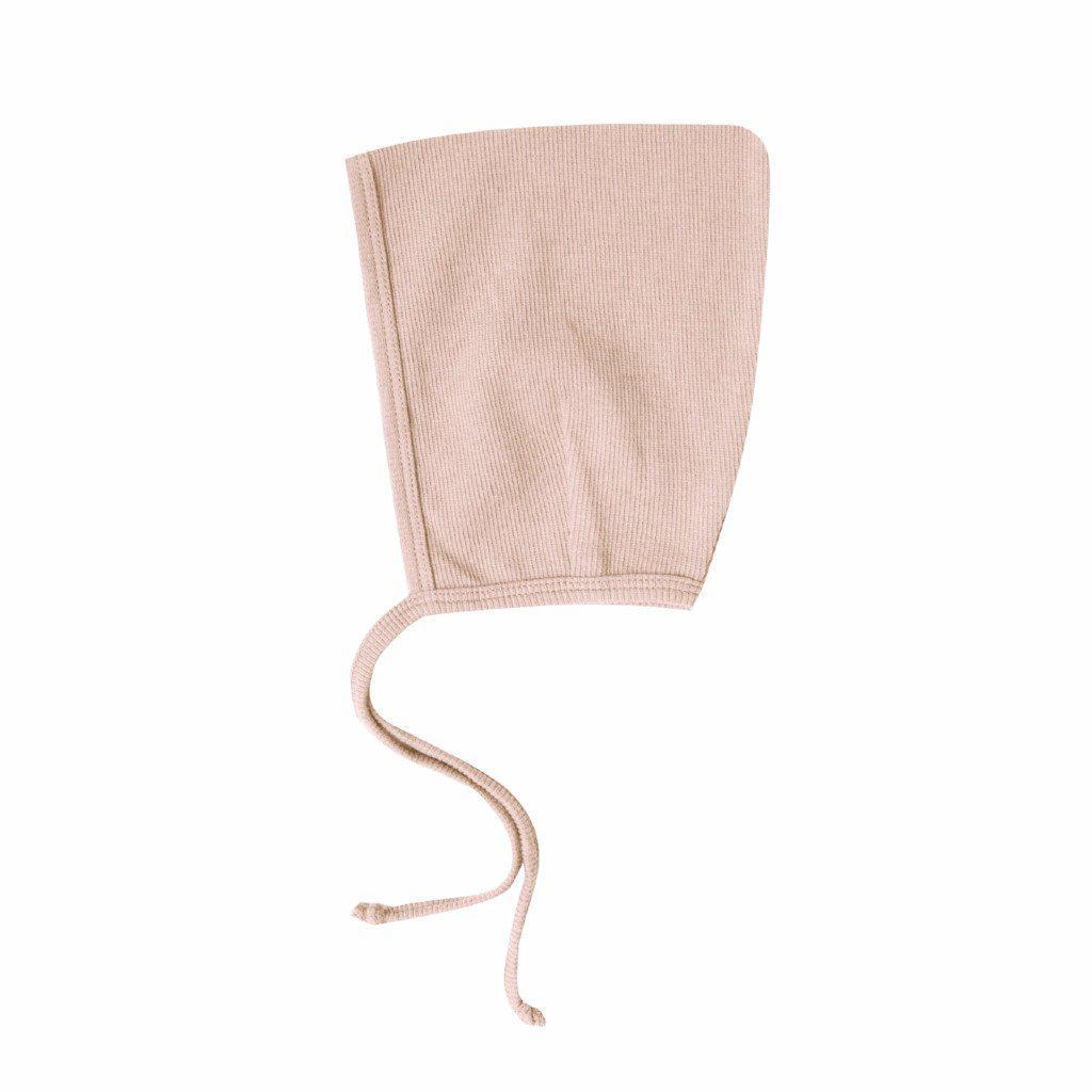 a0d832395 Ribbed Baby Bonnet Rose