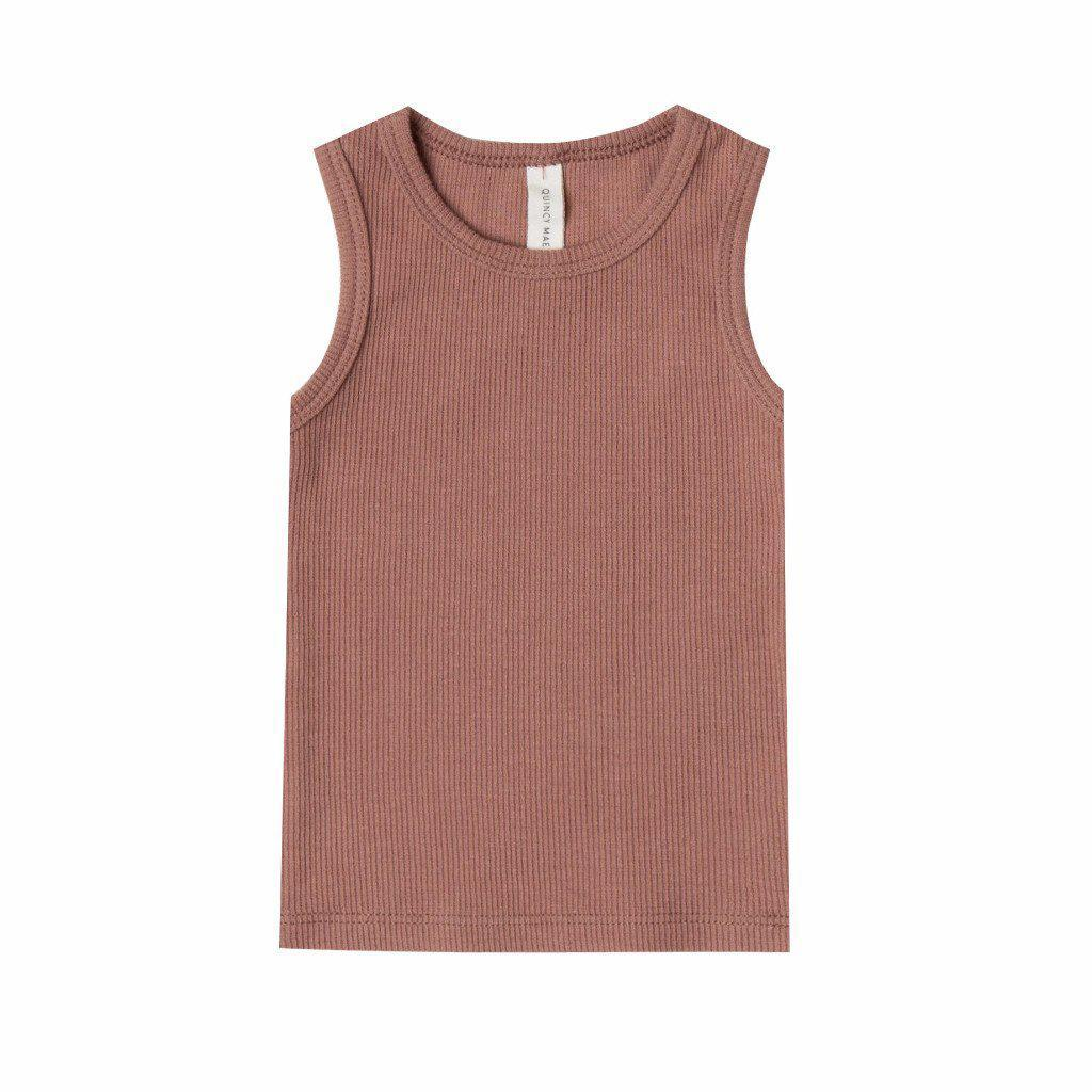 Ribbed Baby Tank Clay