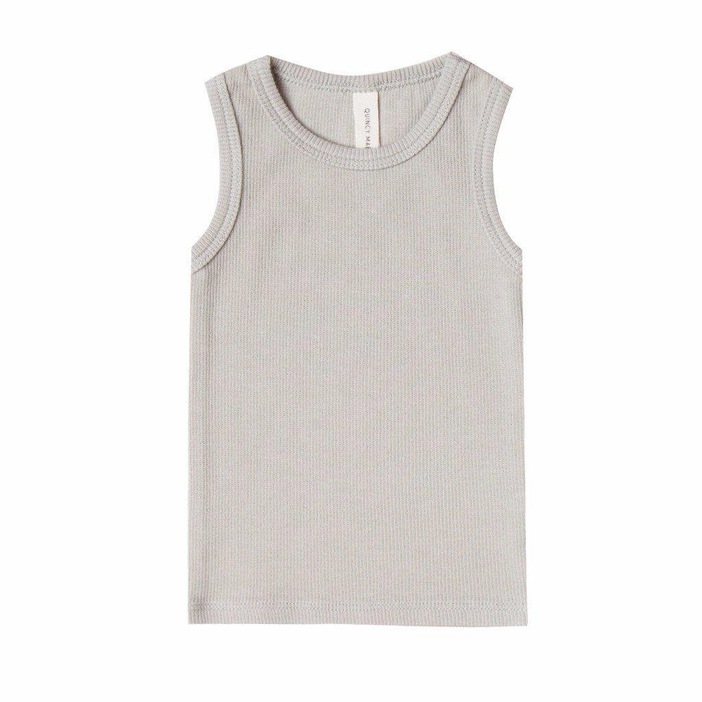 Ribbed Baby Tank Dove