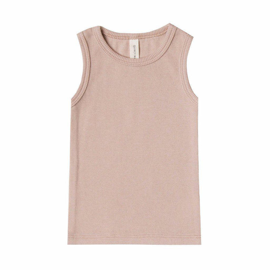 Ribbed Baby Tank Rose