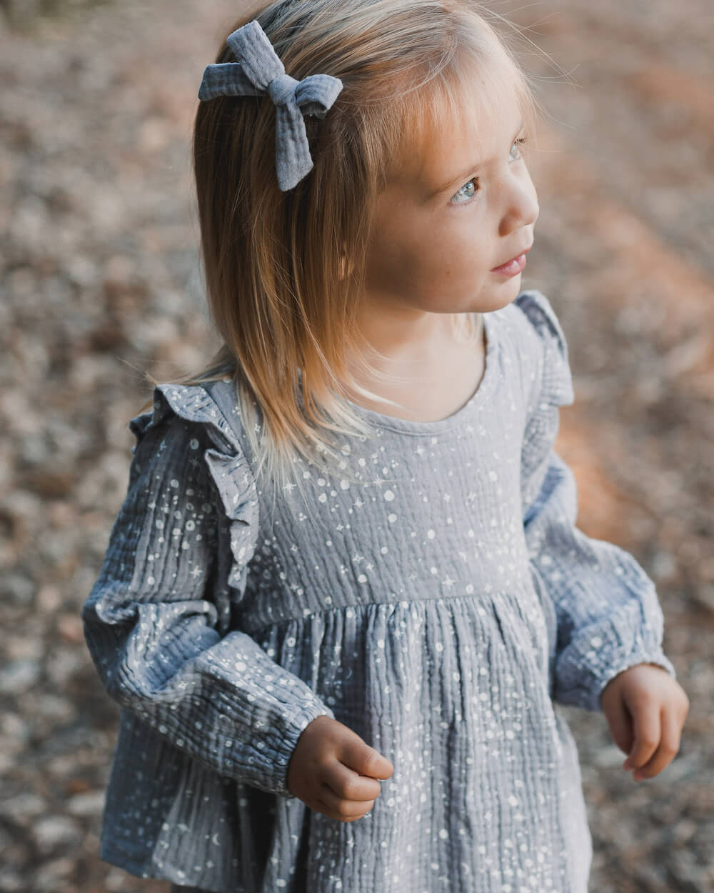 Rylee & Cru Piper Blouse Moondust | Tiny People