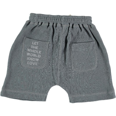 "Tocoto Vintage ""Let The Whole World"" Plush Waffle Shorts Shorts - Tiny People Cool Kids Clothes"