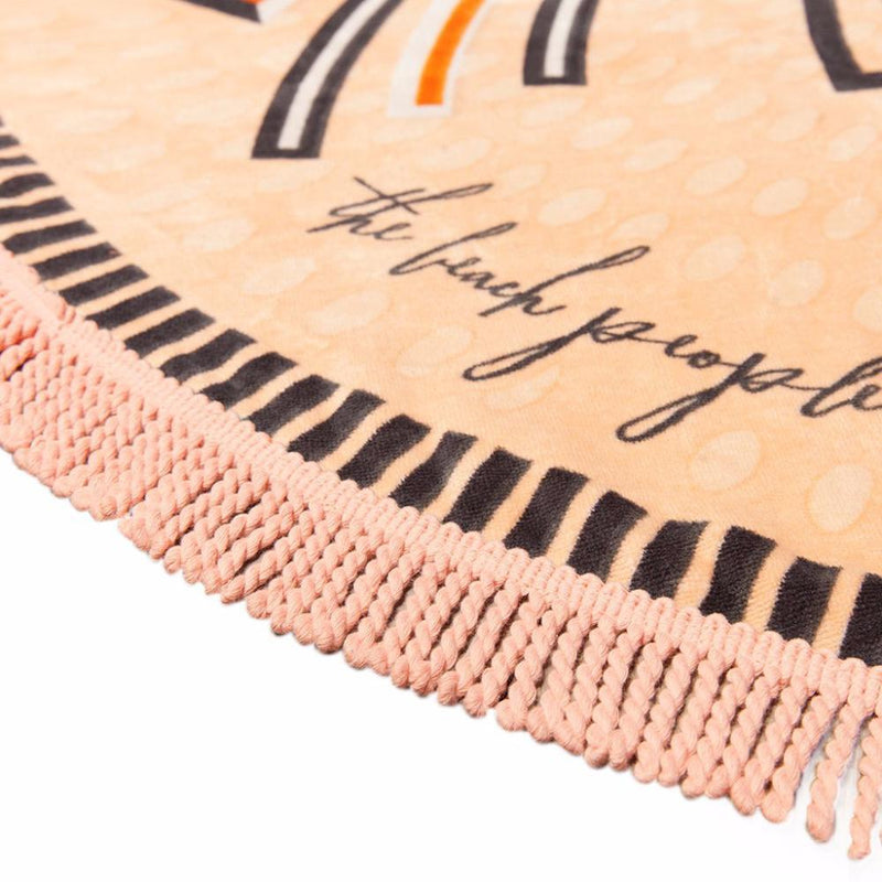 The Savannah Round Beach Towel