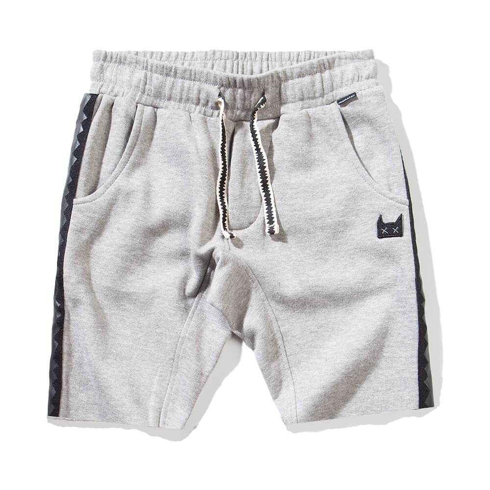 Shark Fleece Shorts Grey Marle